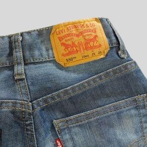 Levi's 550 jeans - Boys 10 Reg 25x25 EUC